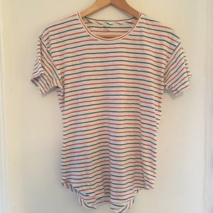 Madewell Whisper Cotton Crewneck Tee, sz. S